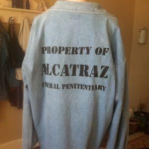 Rare Alcatraz Denim
